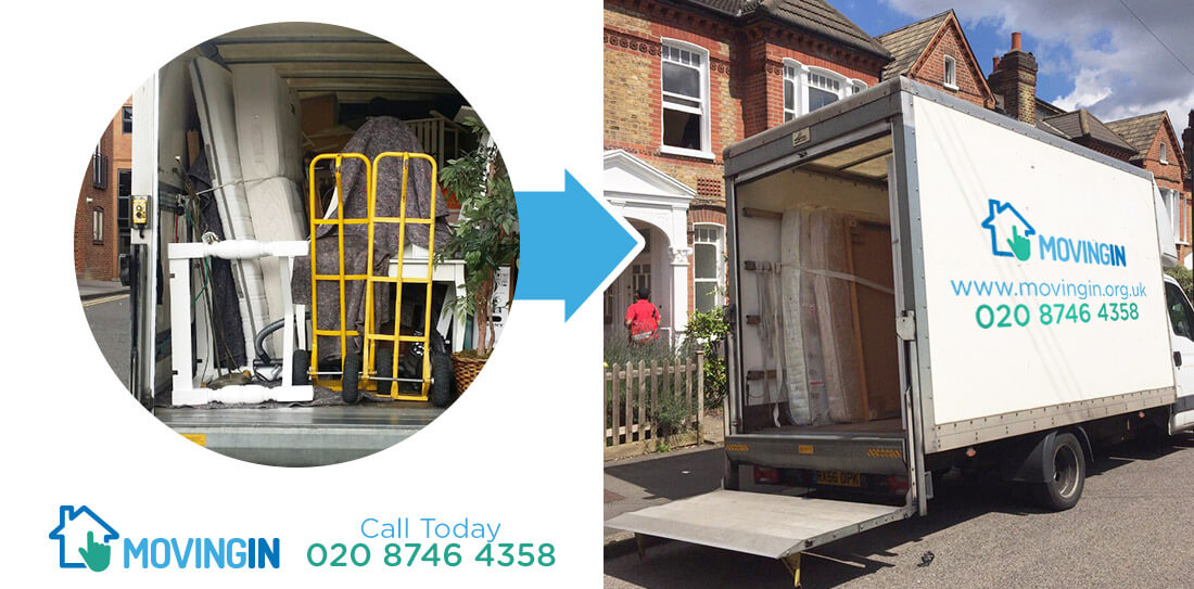 Poplar moving furniture E14