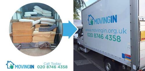 Kingston upon Thames moving furniture KT2