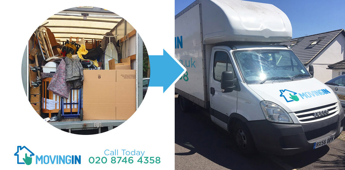 Surrey Quays moving furniture SE16
