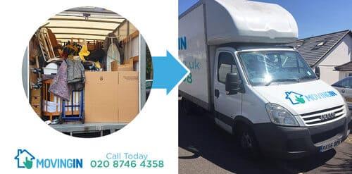 Dalston moving furniture E8
