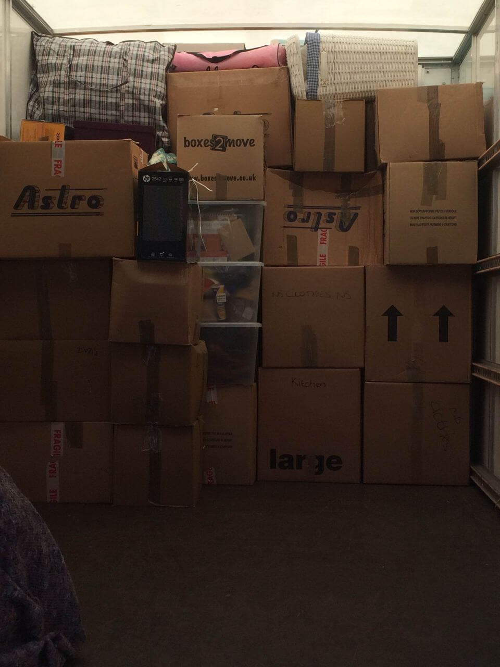 moving van SW3