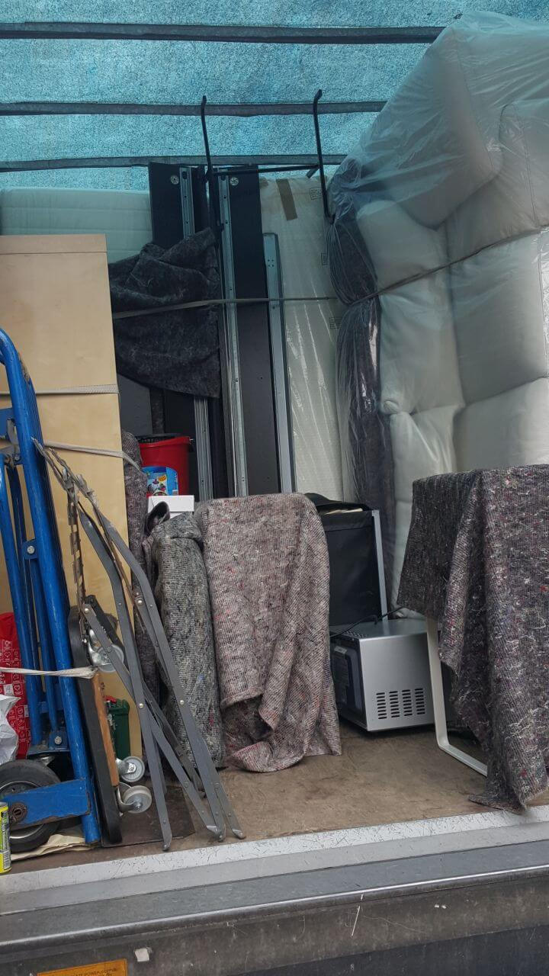 NW7 van removals