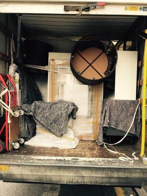 SE22 van removals